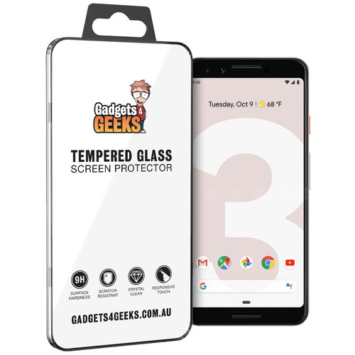 Case Ready 9H Tempered Glass Screen Protector for Google Pixel 3